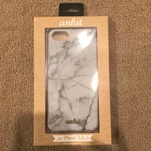 iPhone 7, 6s, 6 marble phone case